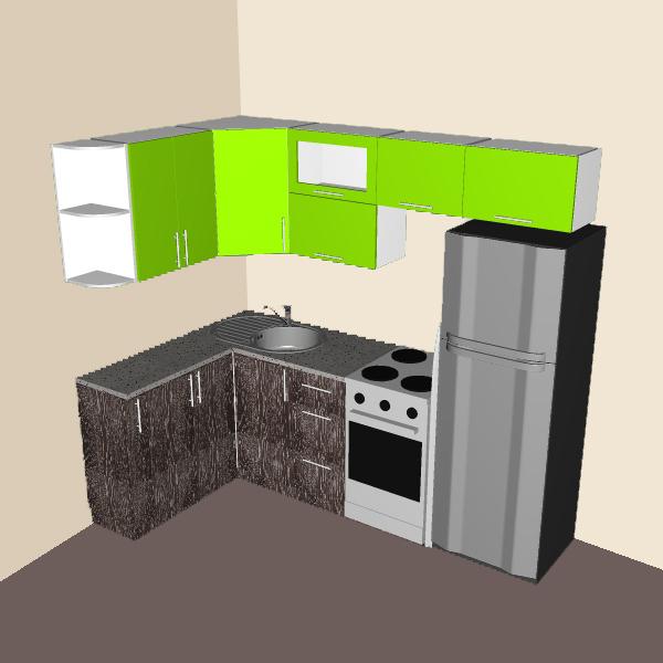 Угловые кухни сборка и чертежи